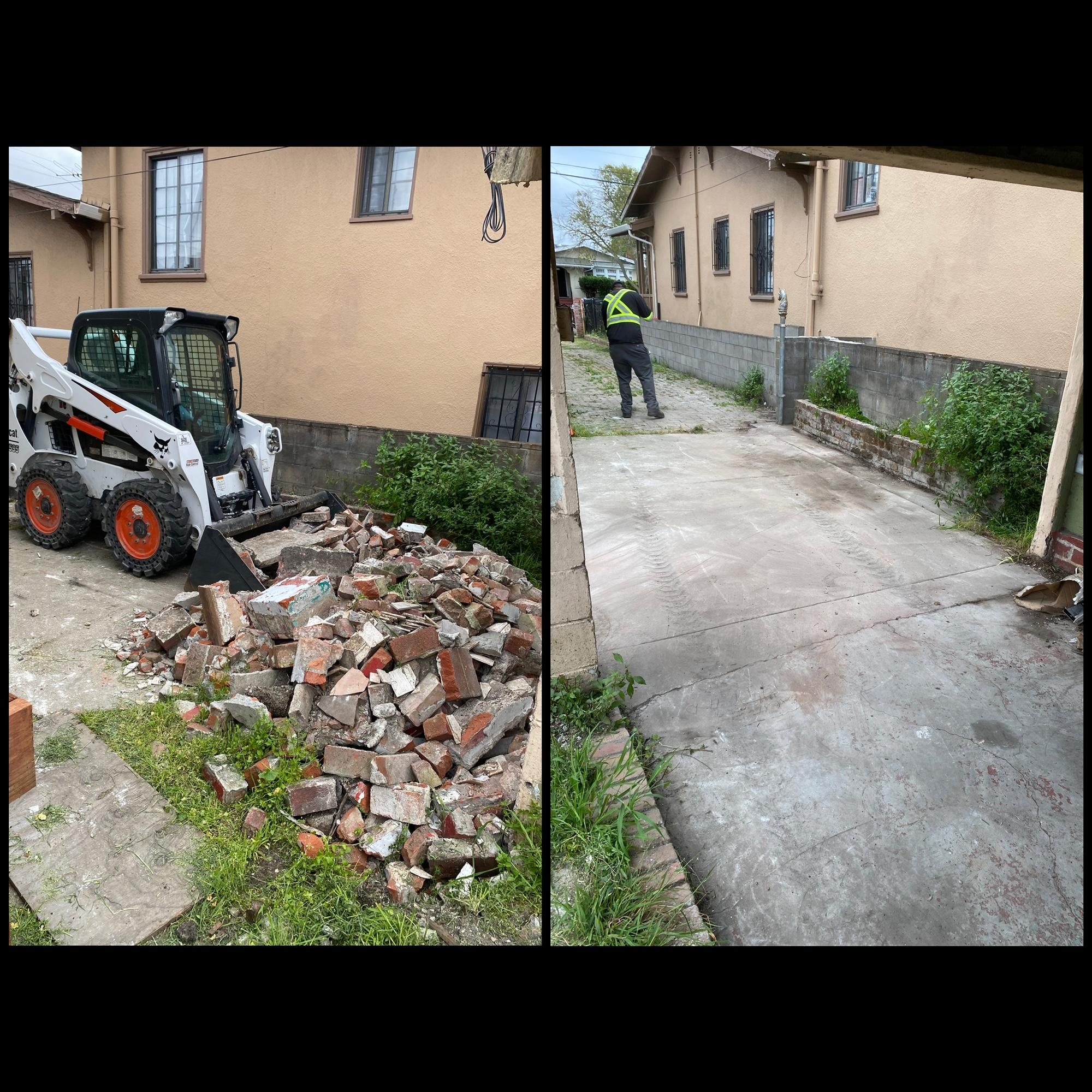Construction Debris Clean Up